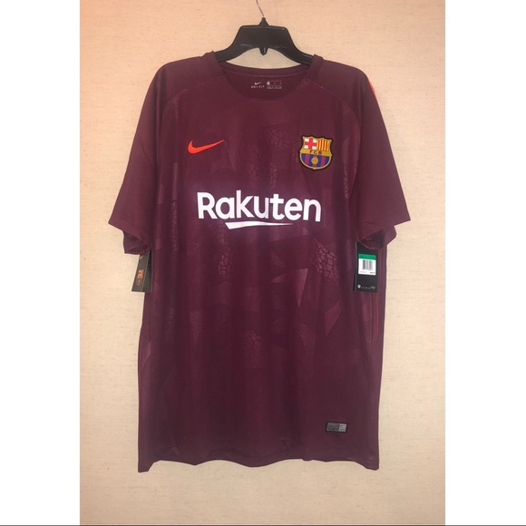 new style 8bb43 da000 Nike FC Barcelona Men's Third Jersey 2017-18 NWT